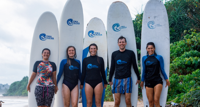 Surfing places in Sri Lanka for beginners